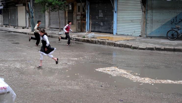 Aleppo, 19 April 2013.