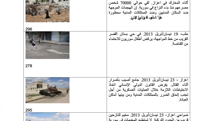 Photos with ARABIC captions