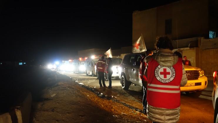 Medical evacuation, Eastern Ghouta, 27 December 2017