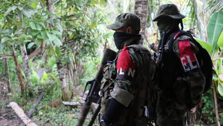 Colombia. Miembros del Ejército de Liberación Nacional (ELN). Isabel Ortigosa/CICR