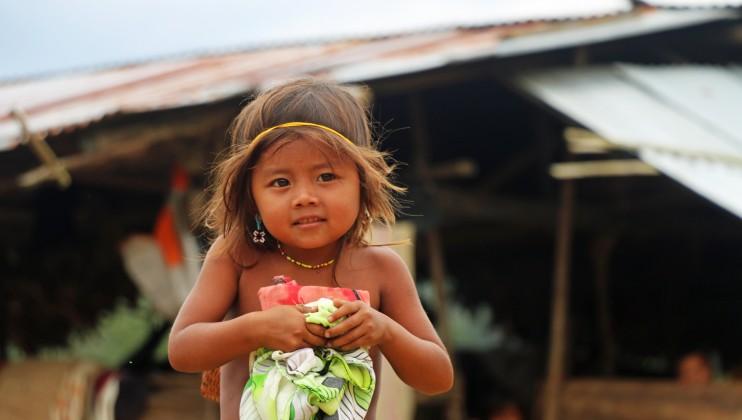 Alto Baudó, Chocó, Colombia. La población indígena es una de las más afectadas por el conflicto y la violencia.  Faruk Saman/CICR