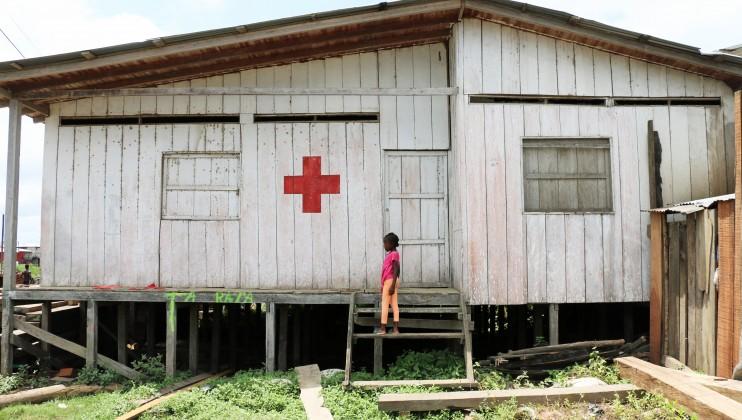 Riosucio, Chocó. Sede de la Cruz Roja Colombiana en el pueblo. Laura Aguilera/CICR
