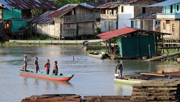 Medio Baudó, Chocó, Colombia. Las poblaciones afrocolombianas e indígenas están entre las más afectadas por el conflicto.  Isabel Ortigosa/CICR