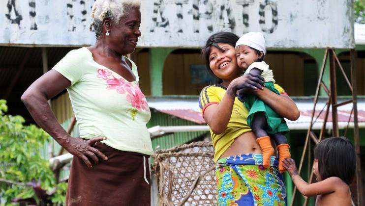 Chocó, Colombia. Las poblaciones afrocolombianas e indígenas están entre las más afectadas por el conflicto.  Isabel Ortigosa/CICR