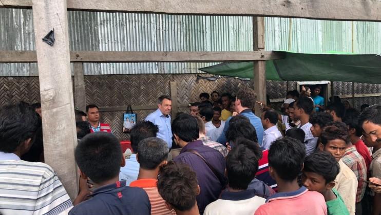 ICRC PRESIDENT PETER MAURER?S VISIT TO MYANMAR AND BANGLADESH 4