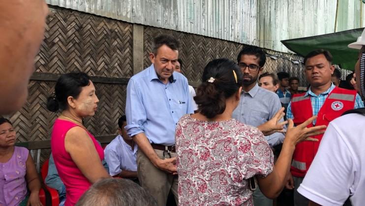 ICRC PRESIDENT PETER MAURER?S VISIT TO MYANMAR AND BANGLADESH 5