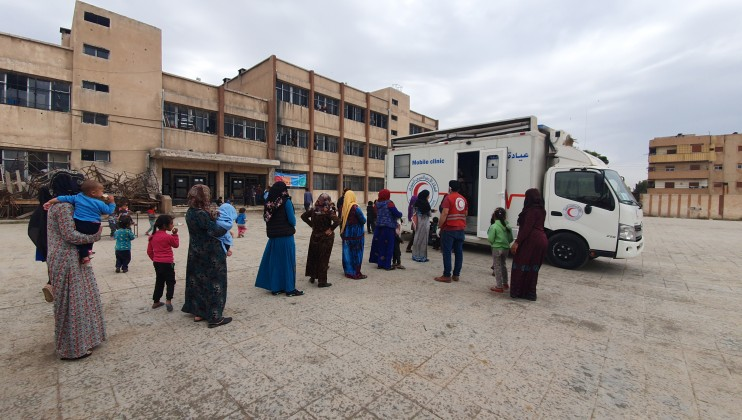2. Hassekah mobile clinic