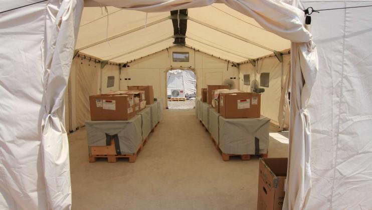 Yemen hospital stills 5   view of hospital tent