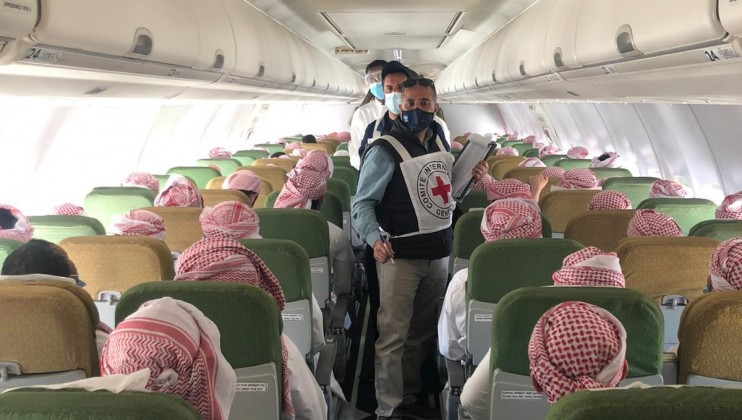 7. Saudi Arabia detainees departing