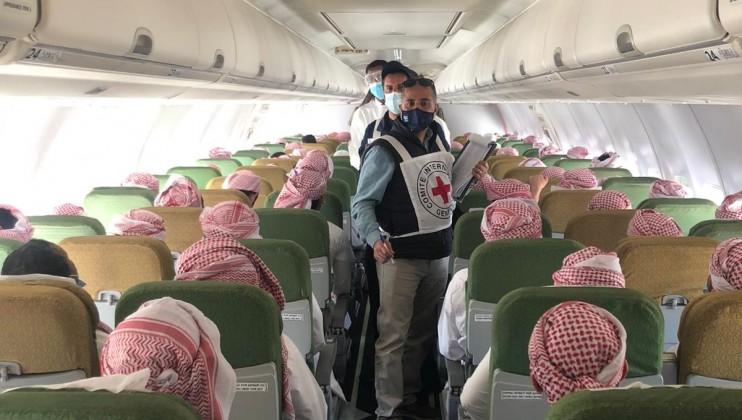 7. Saudi Arabia detainees departing