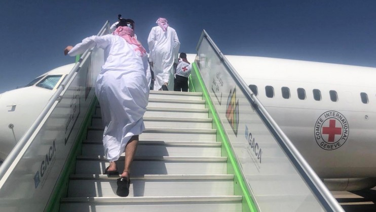 4. Saudi detainees departing