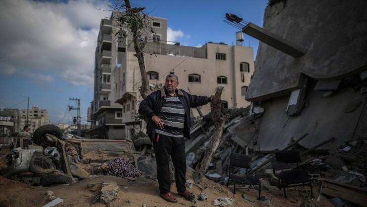 Air strike impact Gaza